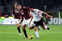 mattia cassani, nicola amoruso,torino 08_11_2008,italian soccer championship 2008_2009 serie a,torino_palermo 1_0,photo giuliano marchisciano/markanew...