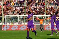 felipe melo celebrates his goal, firenze 09_ 11_ 2008 ,italian soccer championshipi serie a ,fiorentina_atalanta 2_1,photo maurizio d