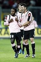 fabio simplicio celebrates his goal,palermo 30_11_2008 ,serie a football championship 2008/2009 ,palermo_milan 3_1,photo p.barone/markanews