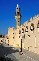 Mosque of Amr ibn al_As, Islamic Cairo, Egypt