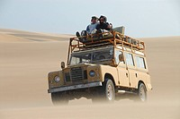 Safari in the dunes, Namib desert near Terrace Bay, Skeleton Coast National Park, Namibia