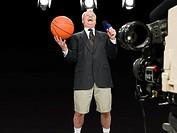 Sports presenter