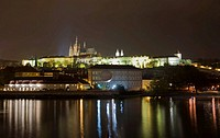 Prague castle Hradschin Prague Czechia