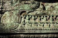 Preah Khan temple, Angkor Wat, Siem Reap, Cambodia, Asia