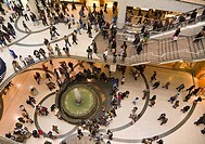Canada, North America, America, Toronto, Ontario, Eaton Center, Eaton Centre, interior, shopping, mall, retail, people