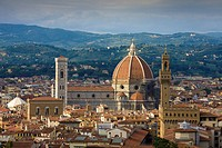 Italy, Europe, Florence, travel, Firenze, old town, Toscana, Tuscany, Toscana, city, Duomo, cathedral, dome, roofs, Pa