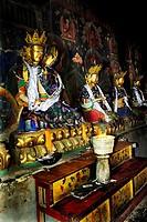 Religious figures, Samye Monastery, Tibet
