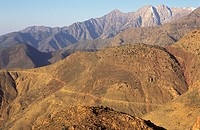 Tizi_n_Tichka pass, High Atlas Mountains, Morocco