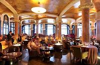 Cafe Viennese, Hotel Casa Fuster, Barcelona, Catalonia, Spain