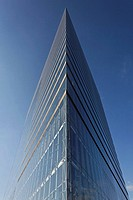 High-rise citygate, Duesseldorf, NRW, Germany
