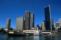 Circular Quay, Sydney Cove, Sydney Harbour, Sydney, New South Wales, Australia
