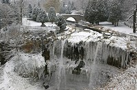 Websters Falls on the Niagara Escarpment, Ontario, Canada (thumbnail)