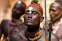 Kenya, Samburu warriors