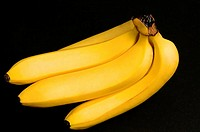 Close_up of a bunch of bananas