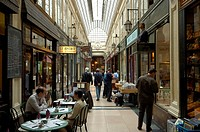 Historic shopping arcade Verdeau, Paris, Ile-de-France, France