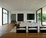 14 bis, House in Brazil. Living area. Architect: Isay Weinfeld