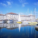 Magasin aux Vivres naval storehouse, Marina, Rochefort, Charente_Maritime, Poitou_Charentes, France, Europe