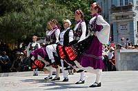 Dancers, Rose Festival, Karlovo, Bulgaria