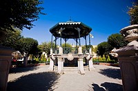 Gazebo in a garden, Sombrerete, Zacatecas State, Mexico