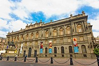 Facade of a museum, National Museum of Art, Mexico City, Mexico
