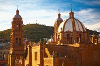 Cathedral in a city, Zacatecas State, Mexico (thumbnail)
