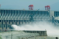 Three Gorges Sanxia Dam, Yangtze River, China