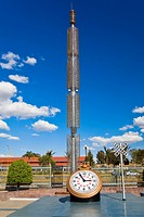 Clock in a park, Three Centuries Memorial Park, Aguascalientes, Mexico