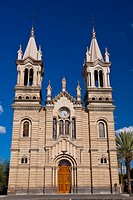 Facade of a church, Iglesia Purisima Concepcion De Maria, Aguascalientes, Mexico (thumbnail)