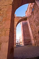 Ruins of a church, Ex Templo De San Agustin, Zacatecas, Mexico