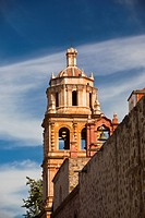 Low angle view of a church, Church of San Francisco, San Luis Potosi, Mexico