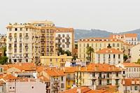 Buildings in a city, Cote d´Azur, Cannes, Provence_Alpes_Cote D´Azur, France