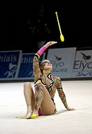 RG Alina KABAEVA RUS Olympic and World Champion of Rhytm Gymnastics