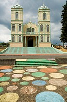 Iglesia de Sarchi church, Sarchi, Central Highlands, Costa Rica, Central America