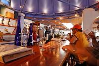 Vine tasting, wine museum and vinery Koutsouyanopoulos, Santorini, Greece