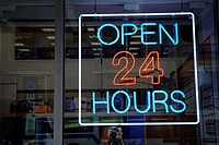 Shop open 24 Hours