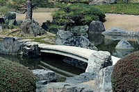 Garden, Nijo Castle, Kyoto, Japan, Asia
