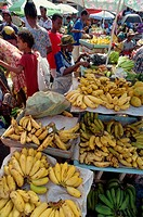 Saturday market, St. George´s, Grenada, Windward Islands, West Indies, Caribbean, Central America