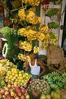 Fruit stall, India, Asia