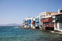 Greece Cyclades Islands Mykonos The Little Venice