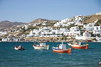 Greece Cyclades Islands Mykonos