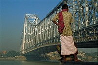 Howrah bridge, Kolkata, West Bengal state, India, Asia