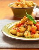 Gnocchi alla calabrese Gnocchi with chilli almond crumbs 1