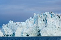 Iceberg, Disco Bay, Illussiat, Greenland, Polar Regions