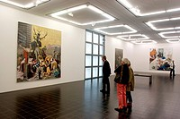 Hamburger Kunsthalle, one of the best art museums in the country, Hamburg, Germany, Europe