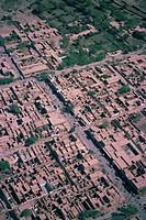 Aerial view of Sibi, Baluchistan, Pakistan, Asia