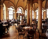 Inside of Cafe Central, Vienna, Austria
