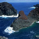 Volcanic coastline, Graciosa, Azores, Atlantic