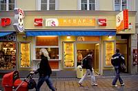 Near Hofbraeuhaus Munich, Doener Kebap Snack, Bavaria