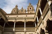 Public library building, Salamanca, Castilla y Leon, Spain, Europe