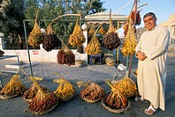 Man selling dates, Palmyra, Syria, Middle East